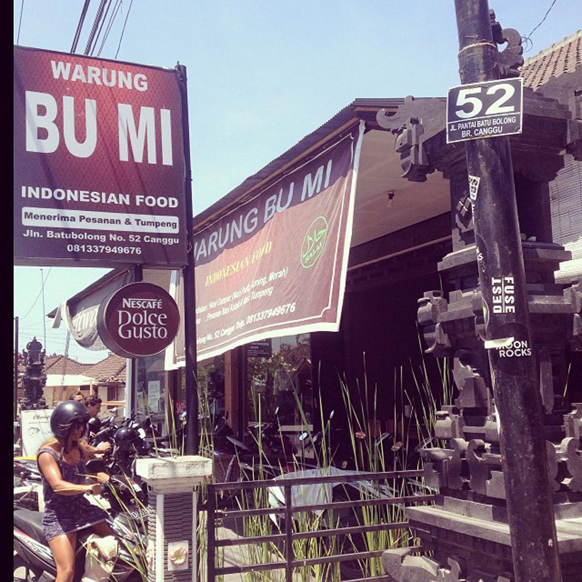 Warung Bu Mi Indonesian Food