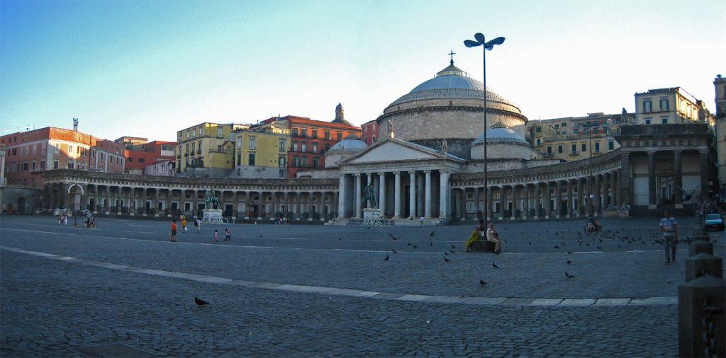 Piazza del Plebiscito Before Sunset