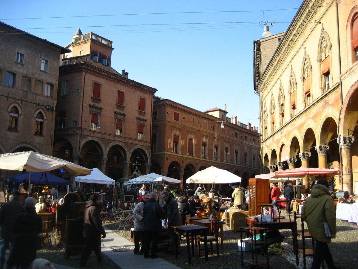 Flea Market, Bologna, Italy