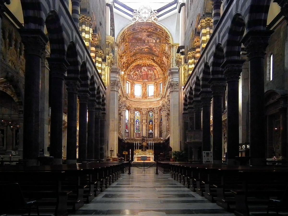 San Lorenzo Cathedral, Genoa, Italy