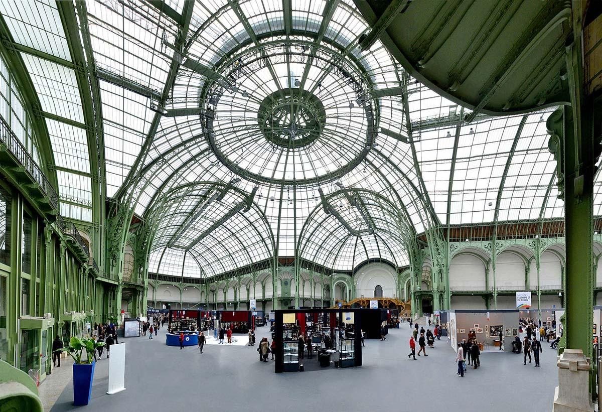 The interior of Grand Palais