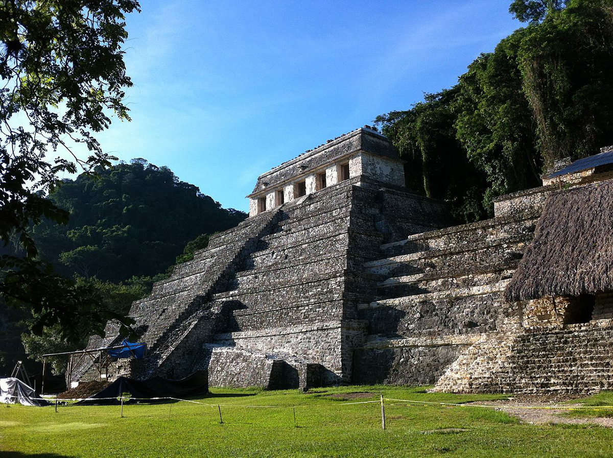 Palenque, Ruins