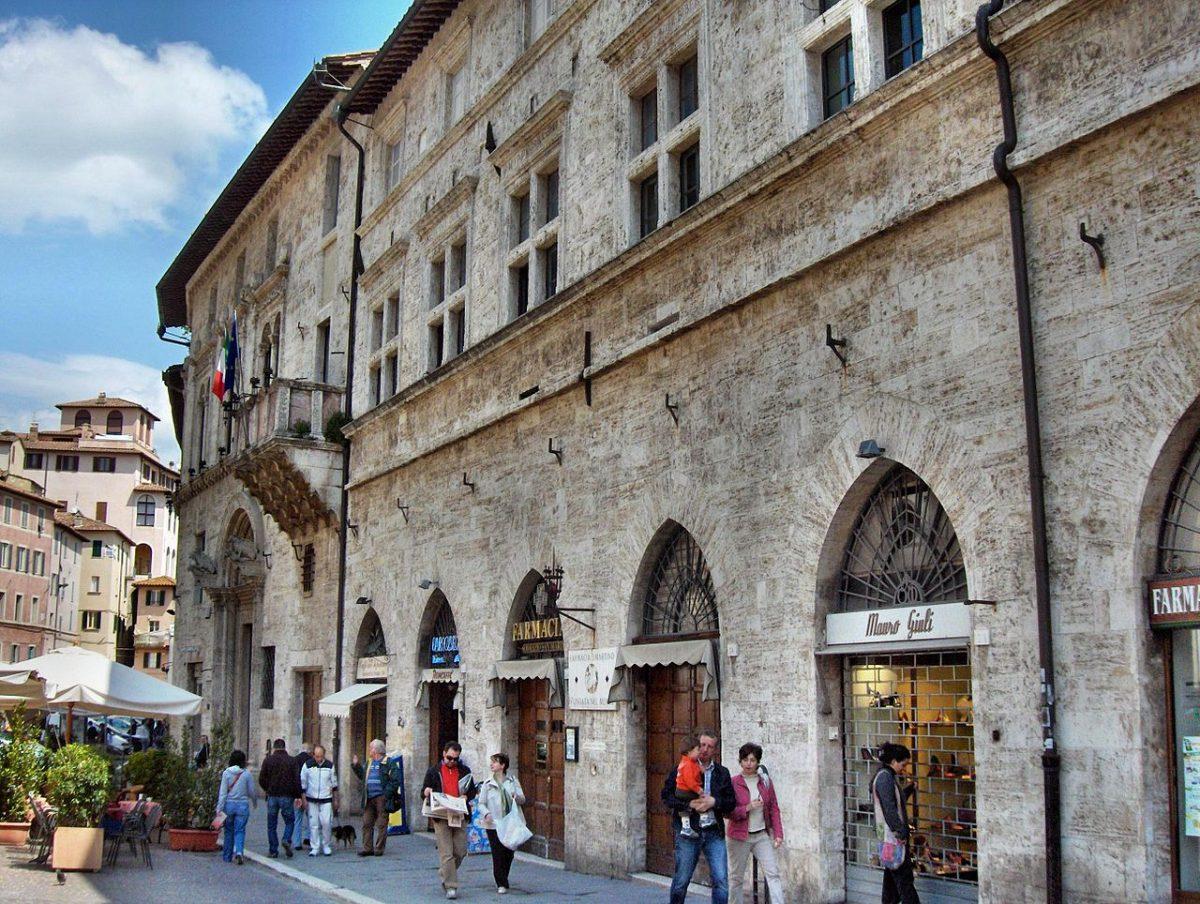 Palazzo del Capitano del Popolo, Perugia, Italy