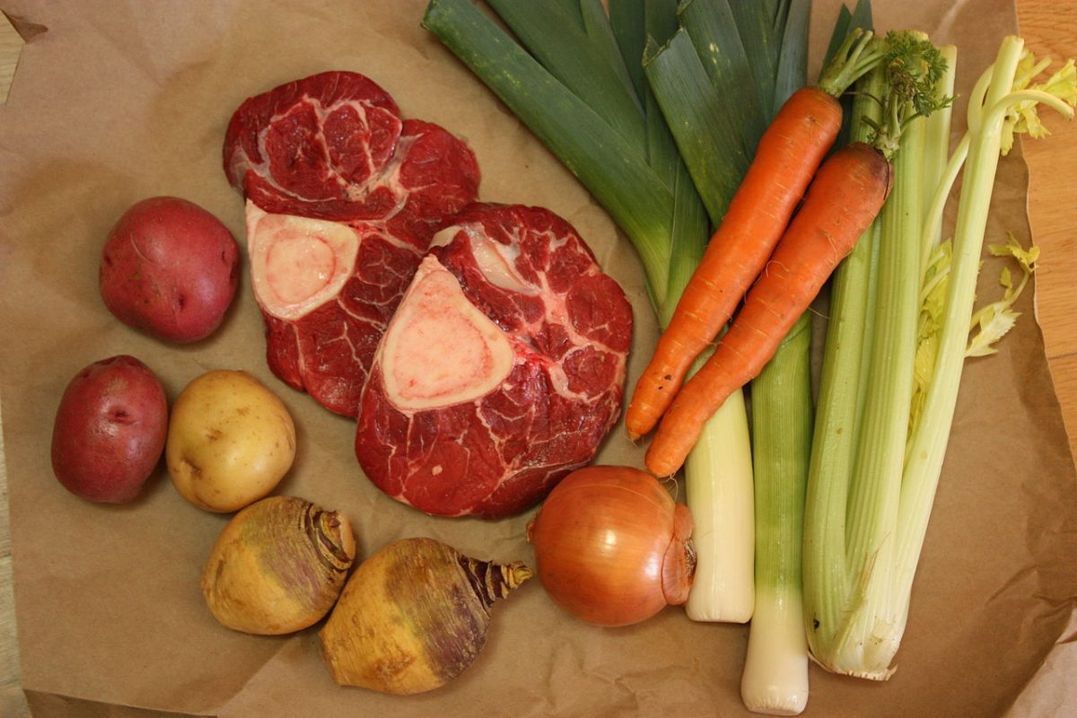 Pot Au Feu, Ingredients