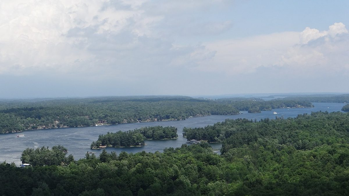 View from the Thousand Islands Tower