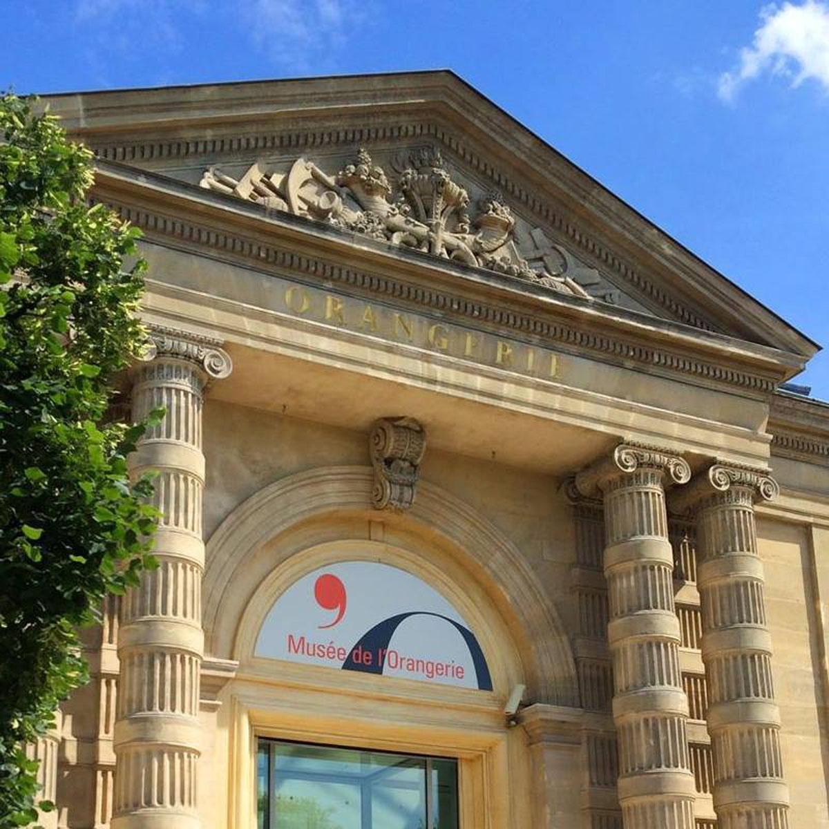 Musée de l'Orangerie at Paris France