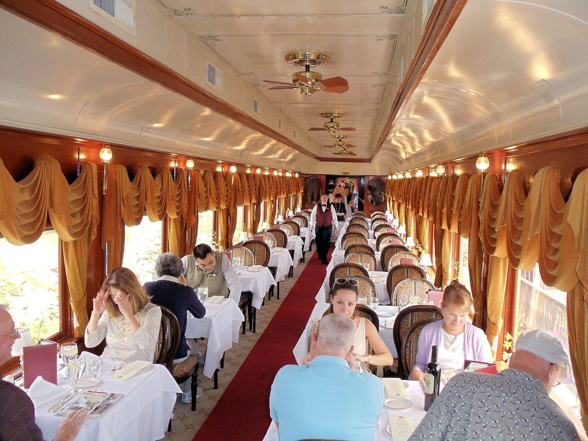 Gourmet Express, Win Train, Napa Valley