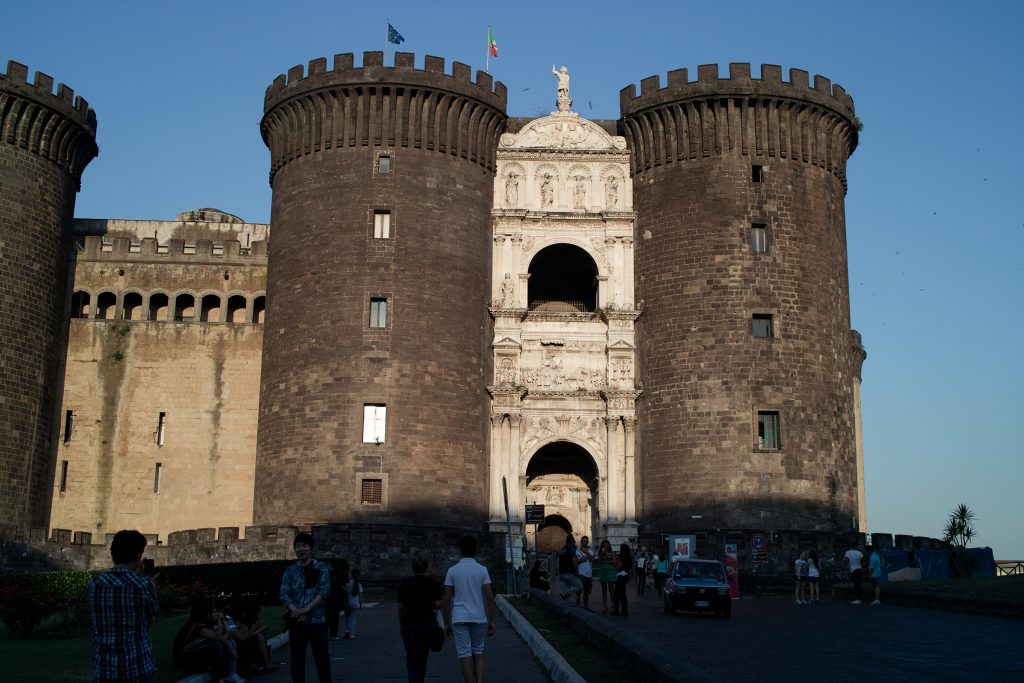 Entrance of Castel Nuovo