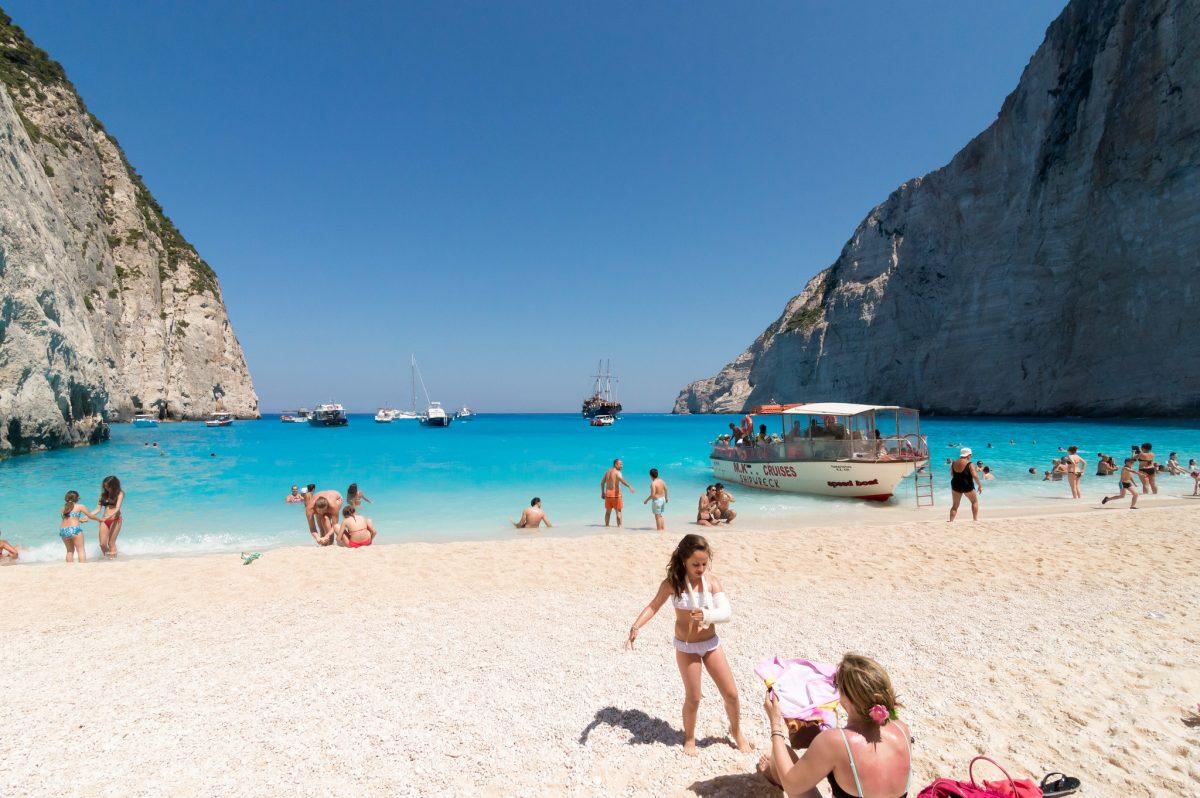 Navagio Beach, Greece, Shipwreck Beach