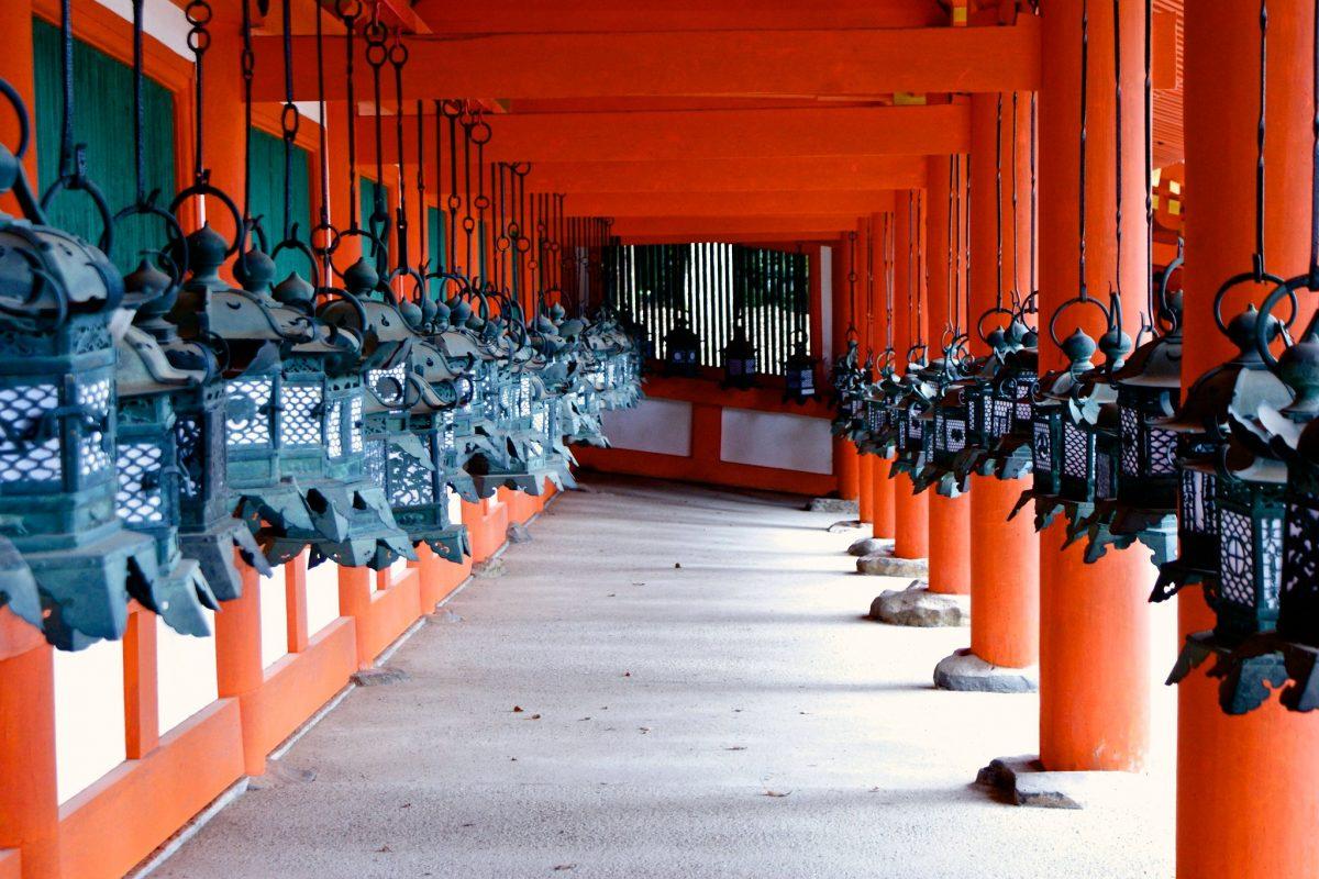 Lanterns, Kasuga Taisha, Nara, Japan