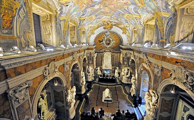 Cappella Sansevero Ceiling