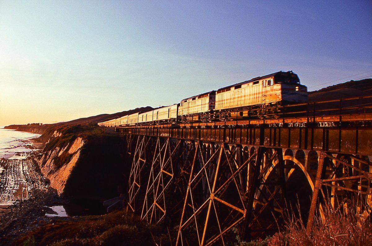 Amtrak Coast Starlight, Scenic Train Ride