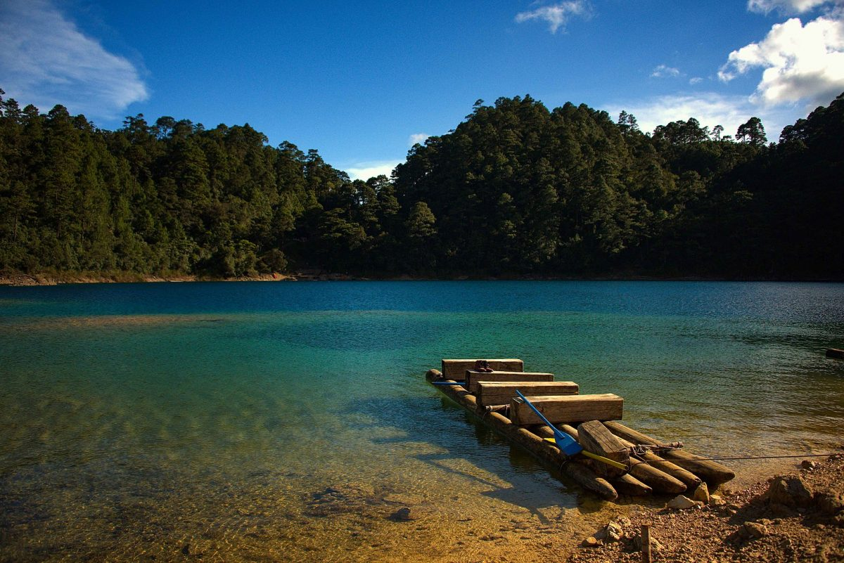 Lake, Montebello, Chiapas