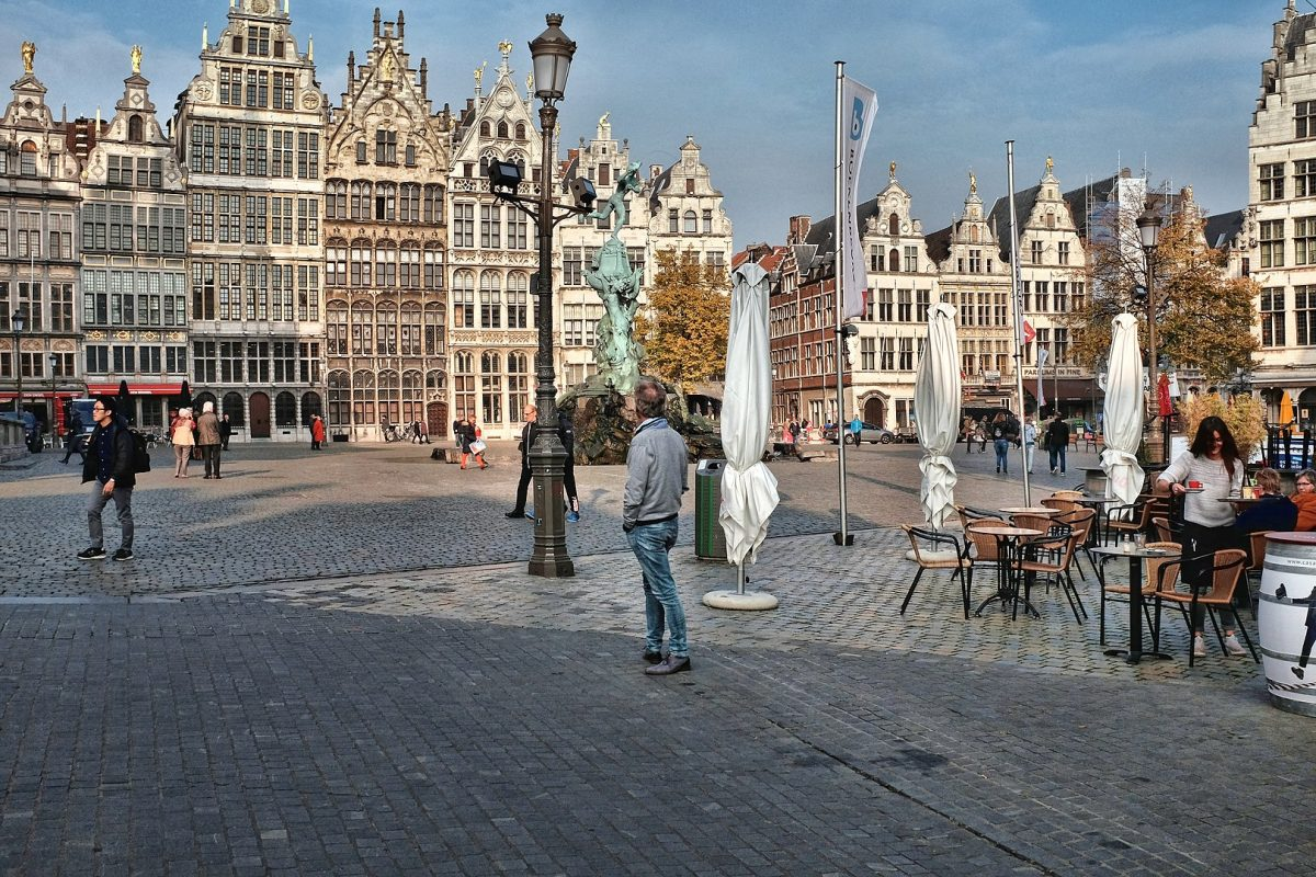 1620px Grote Markt Antwerp with guild houses - Things To Do In Antwerp, Belgium
