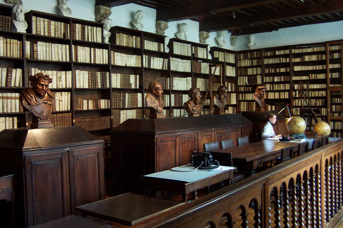 1621px Library of Plantin Moretus Museum in Antwerp - Things To Do In Antwerp, Belgium
