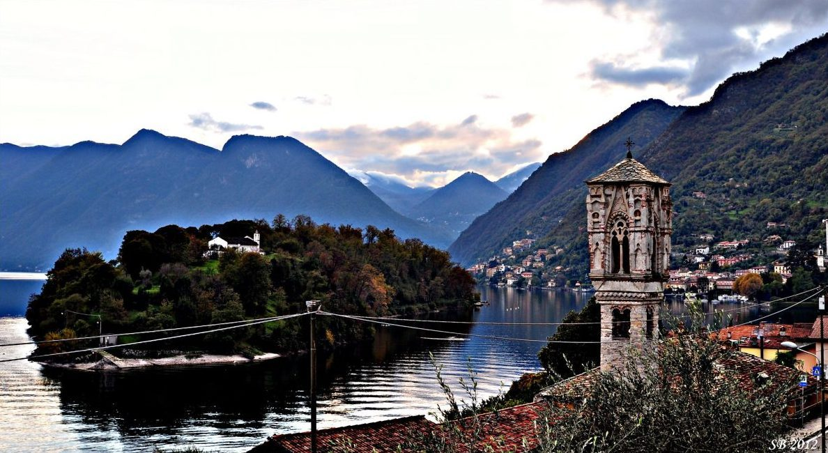 Lake Como, Isola Comacina