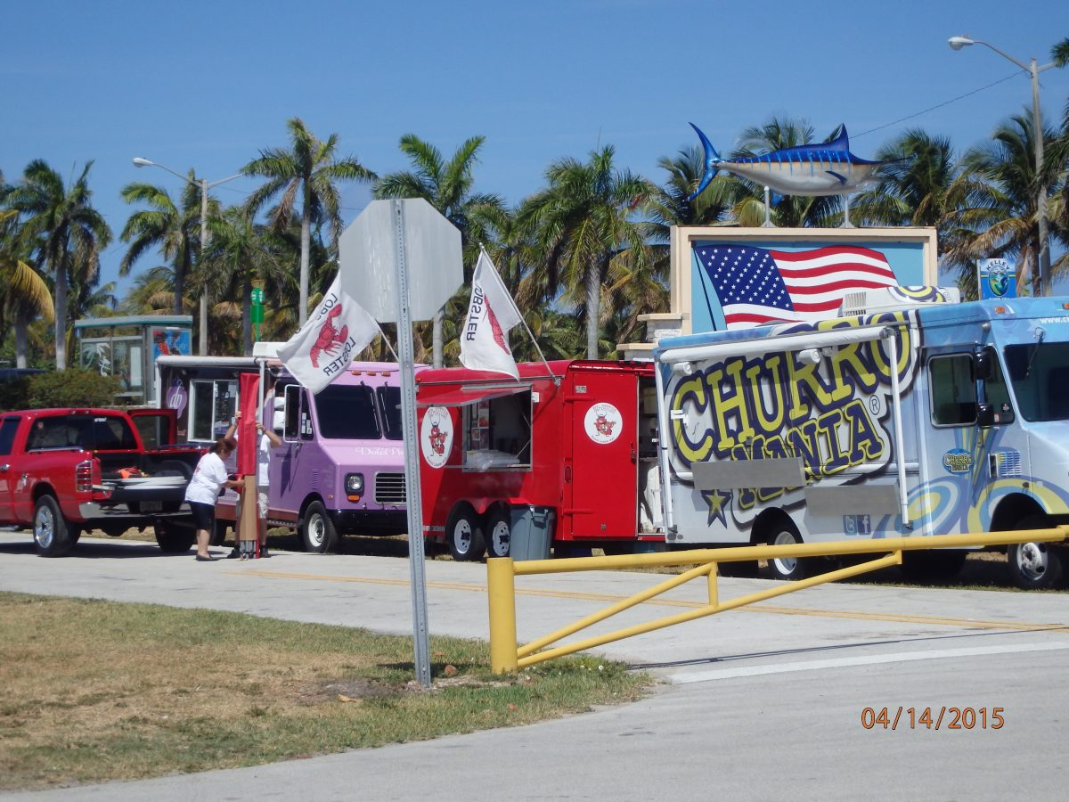 Haulover Park, Food Truck, Miami Beach