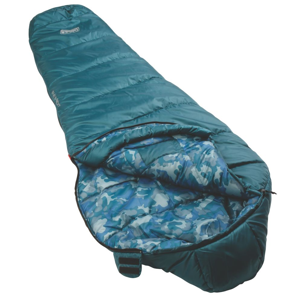 A Coleman Kids 30 degree sleeping bag