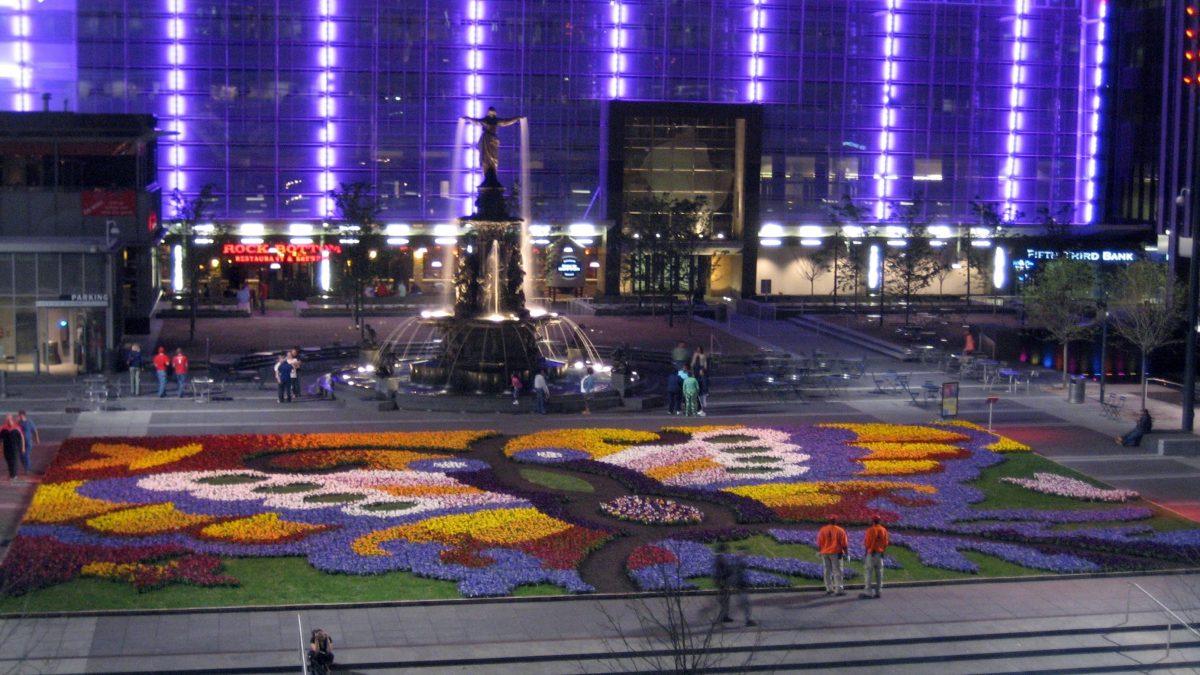Fountain Square in Cincinnati