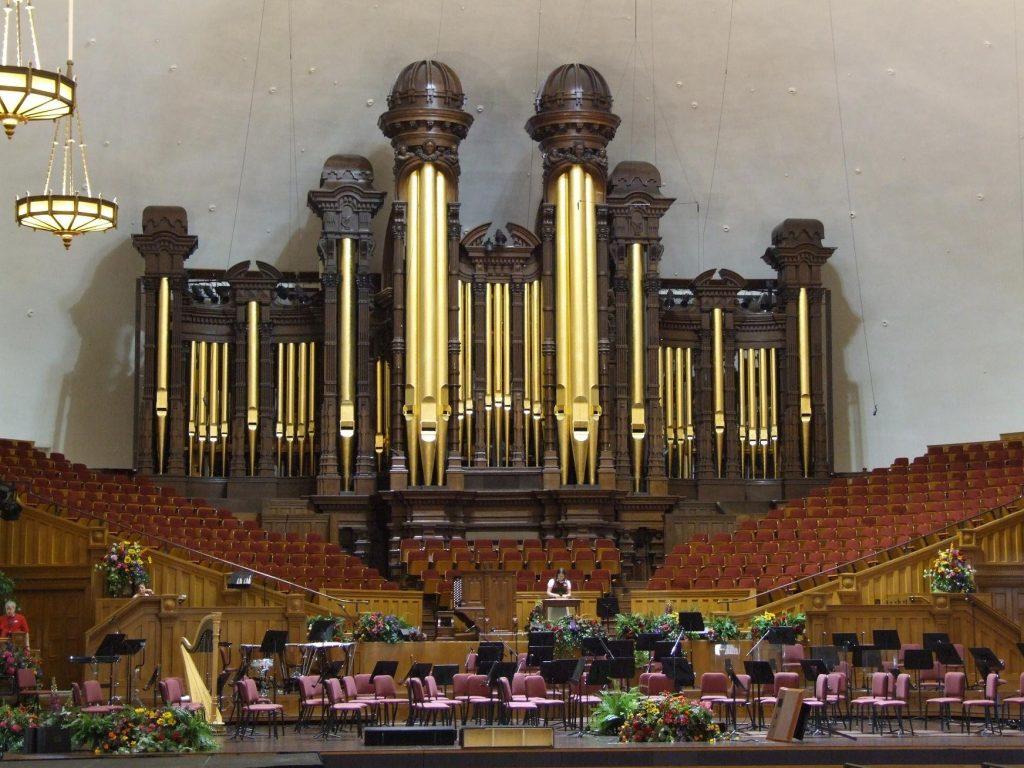 Organ at Salt Lake Tabernacle