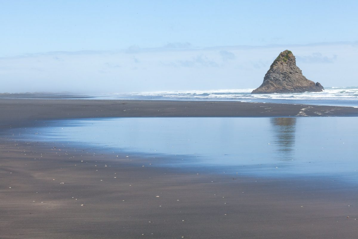 Karekare Beach, New Zealand, Black Sand Beach