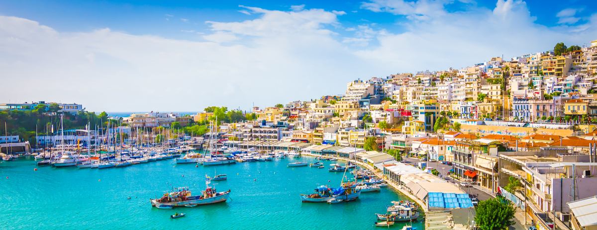 iraeus has many beautiful harbours to explore and also the place to be to catch ferries to surrounding Greek islands