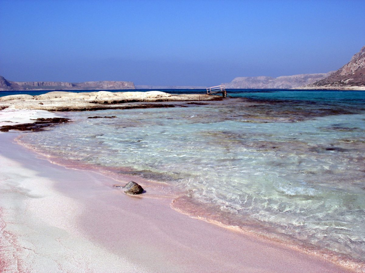 Pink Sand Beach, Balos, Greece