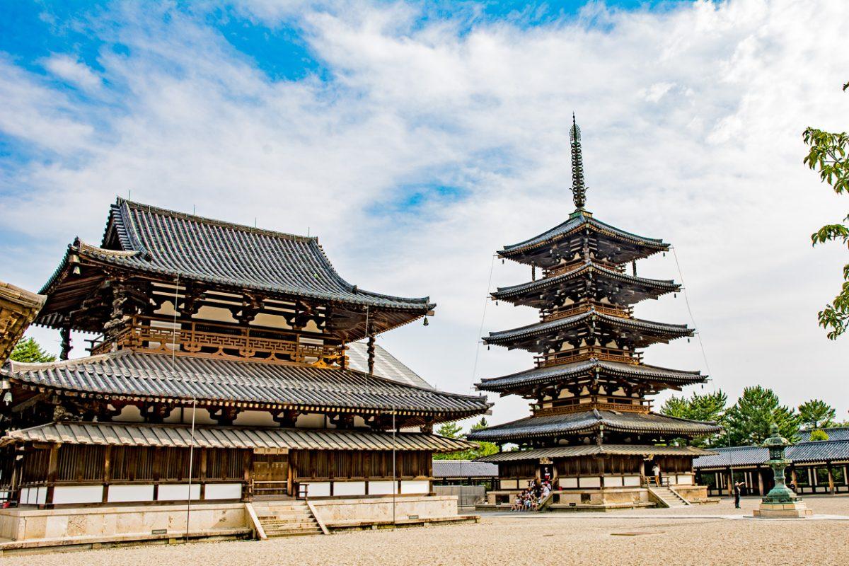 Horyuji Temple, Nara, Japan