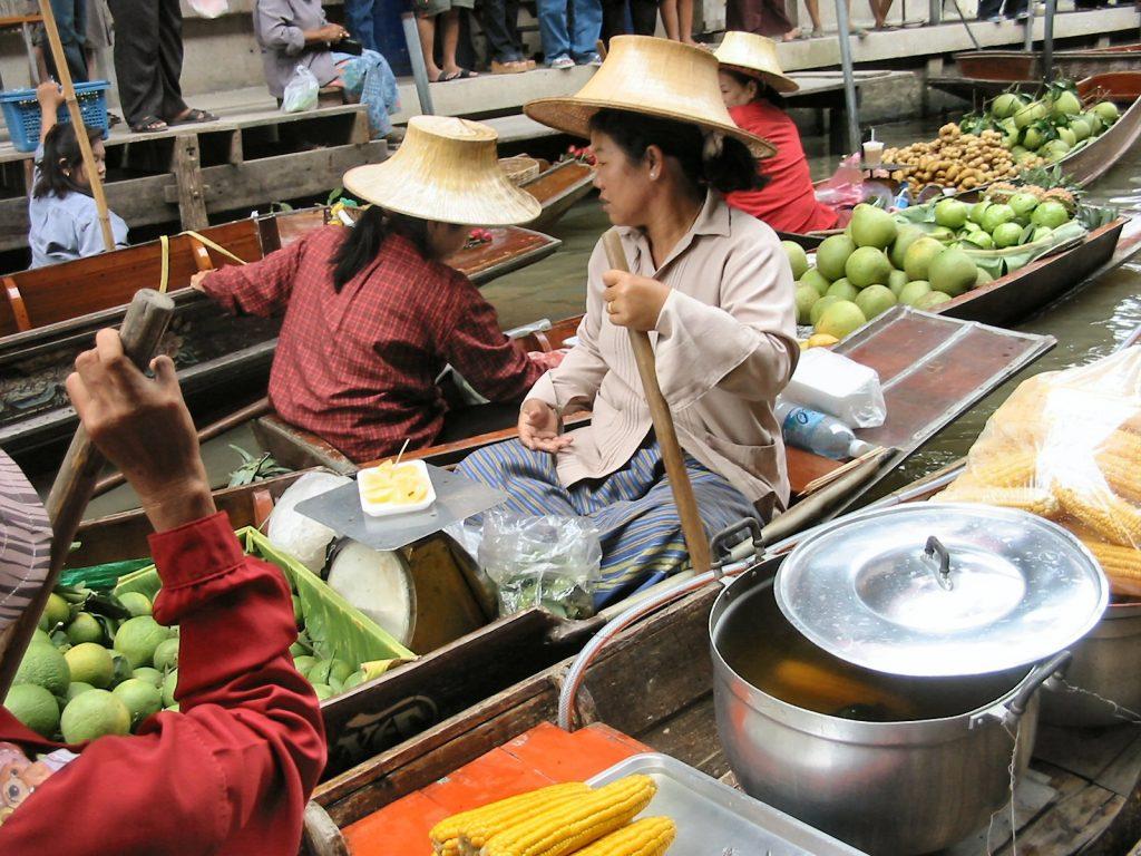 Locals in Thailand