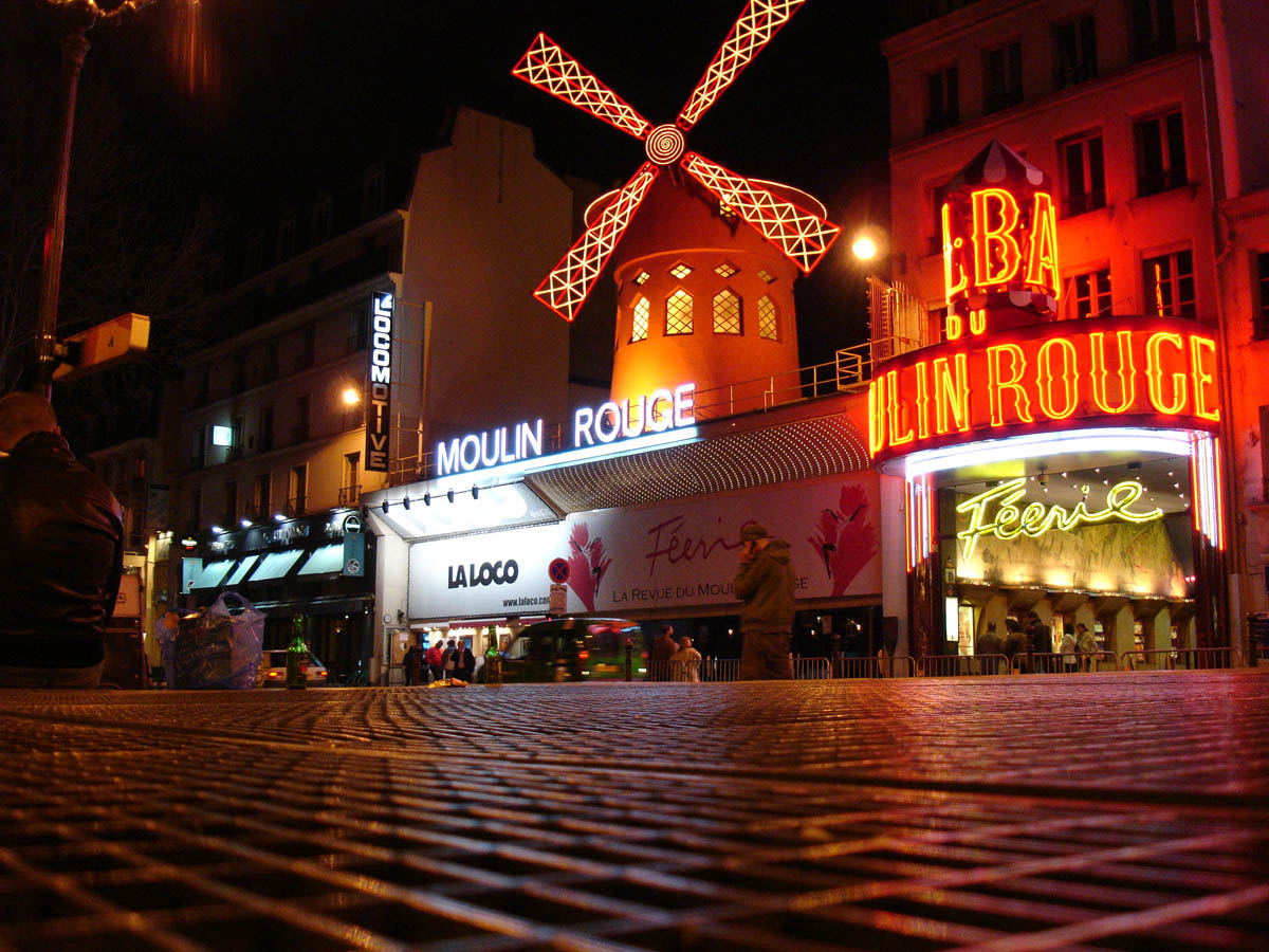 Moulin Rouge Pigalle