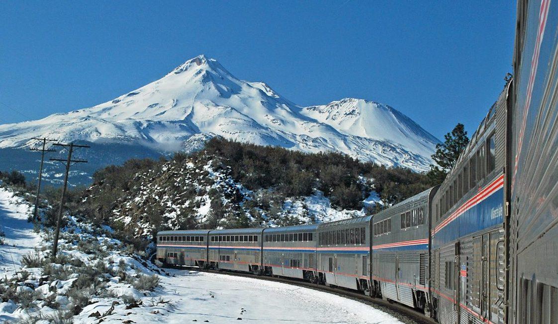 Amtrak Coast Starlight, Mount Shasta