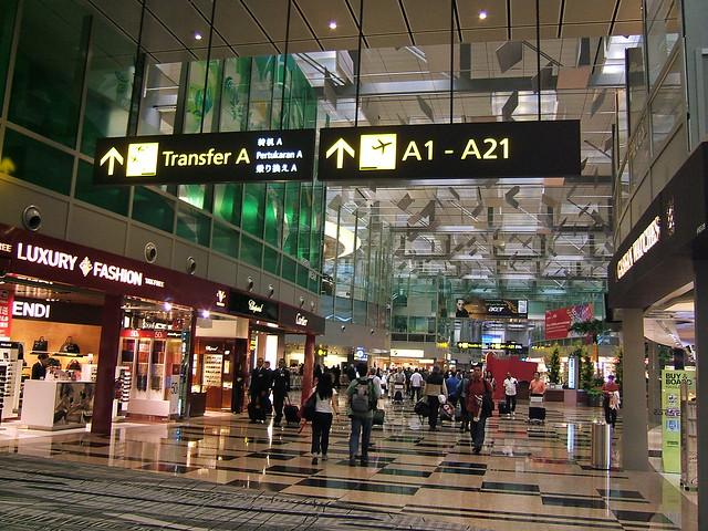 Shopping at Changi Airport