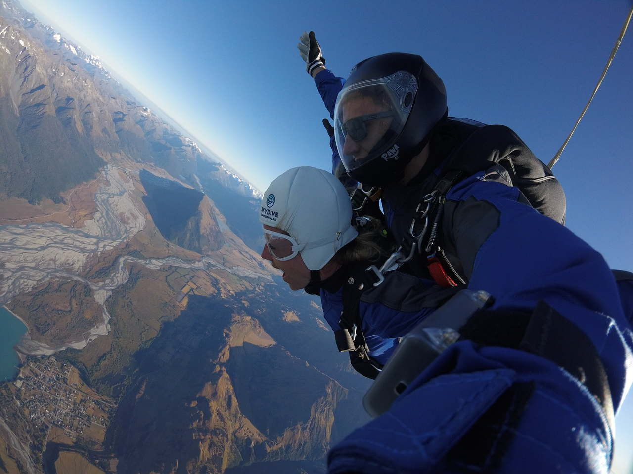 Skydive Southern Alps, New Zealand