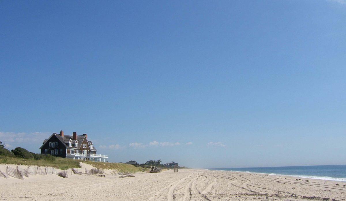 Hamptons Beach, New York, USA