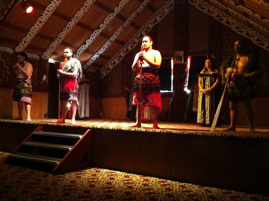 Maori Dinner/Performance RNZ