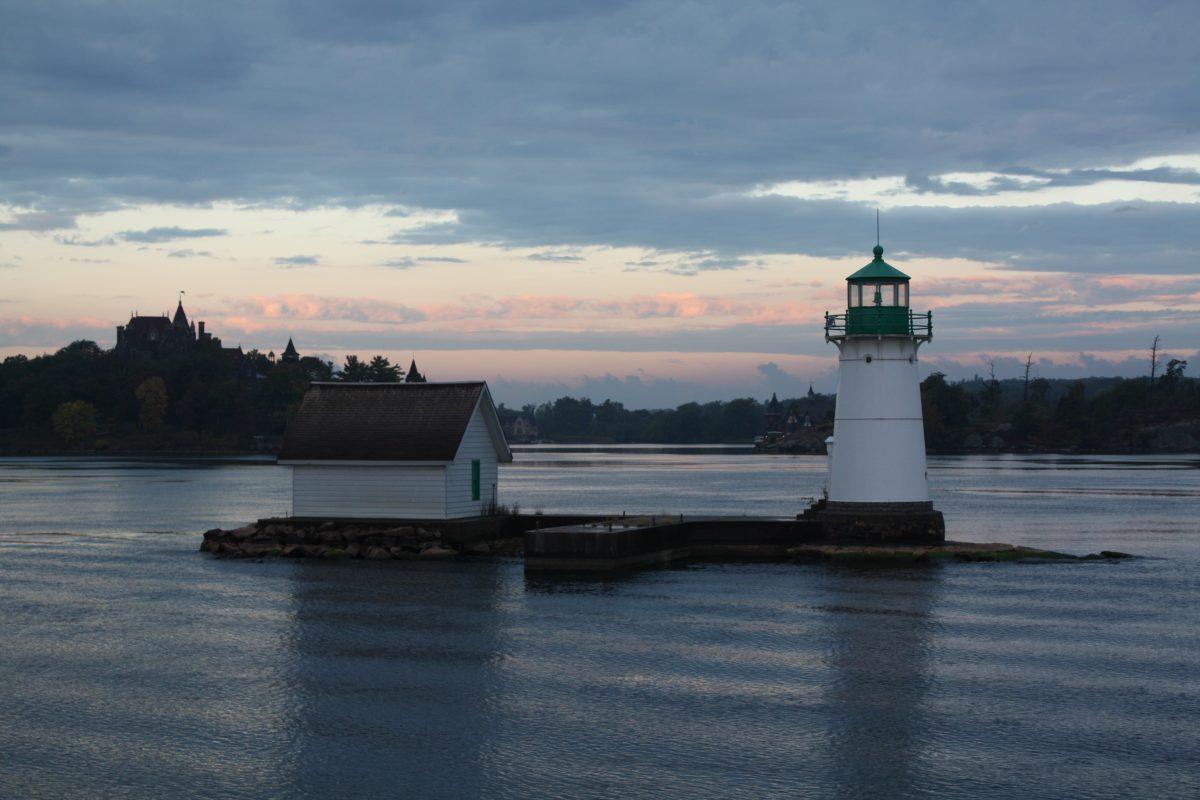 Sunken Rock Lighthouse at Thousand Islands