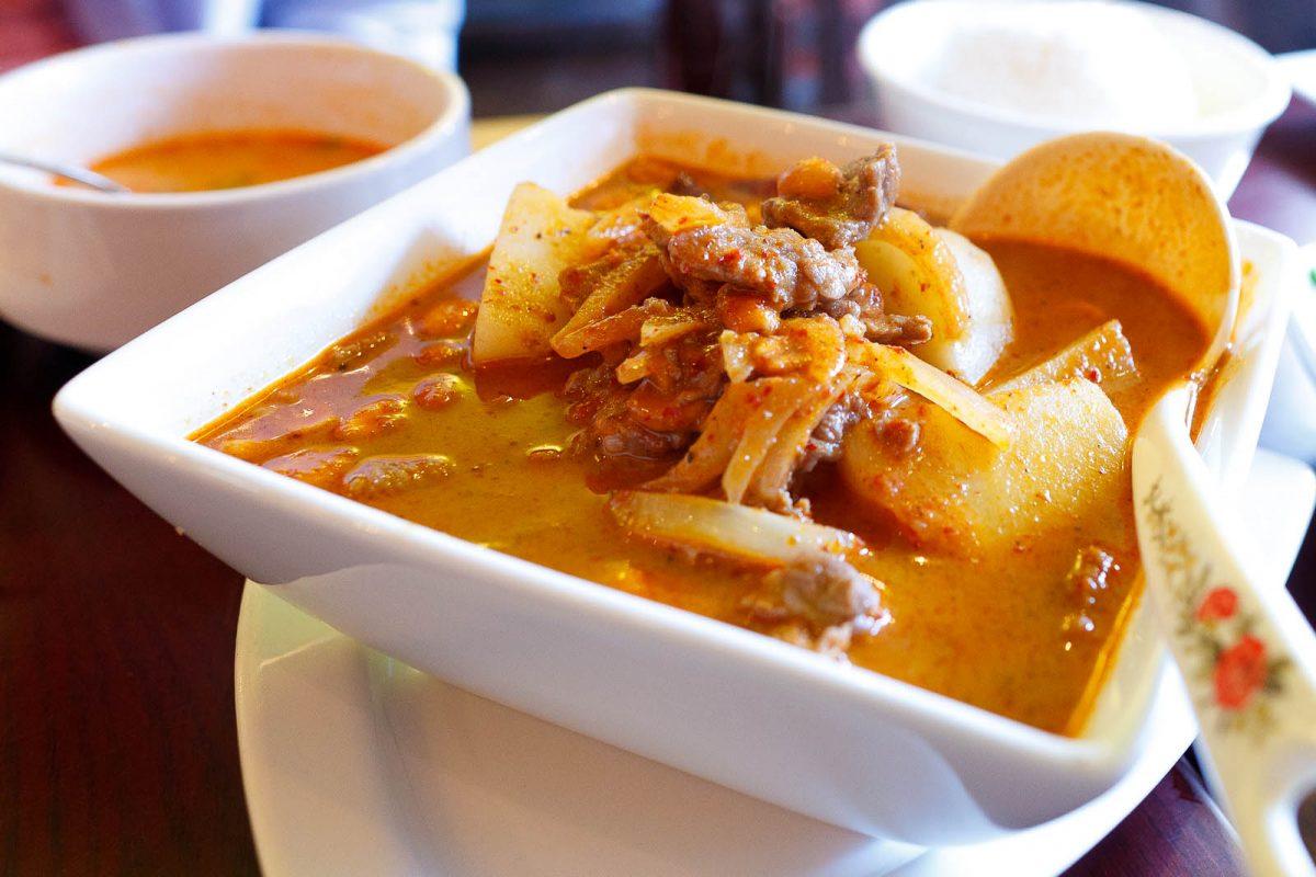Thai Food, Massaman Curry