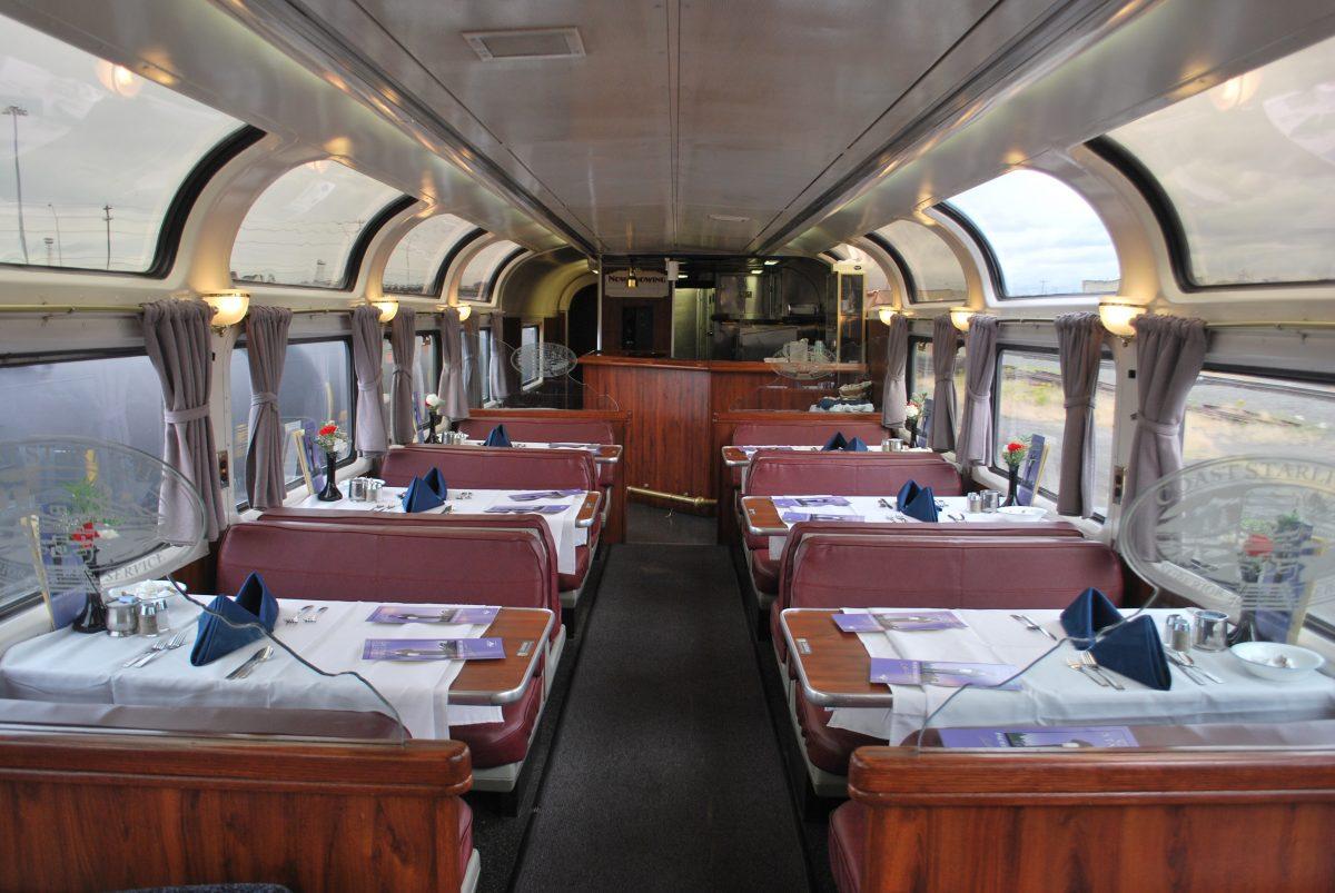 Amtrak Coast Starlight, Dining Lounge