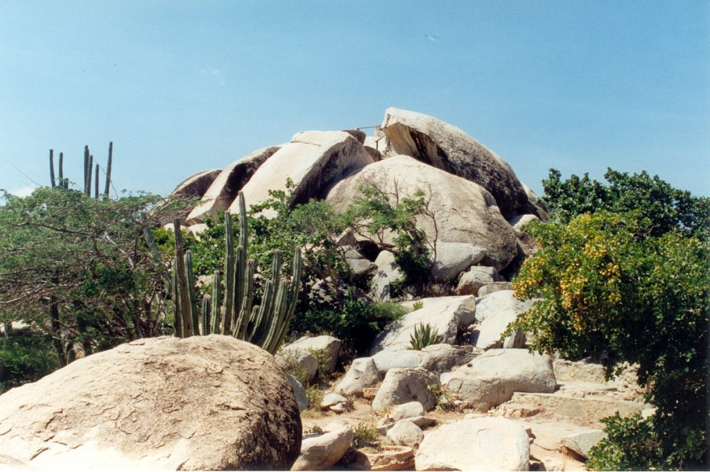 The Ayo Rock Formations, Aruba