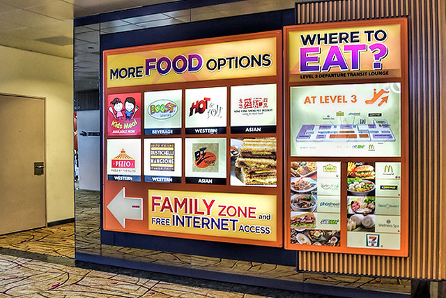 Singapore Airport Food Court