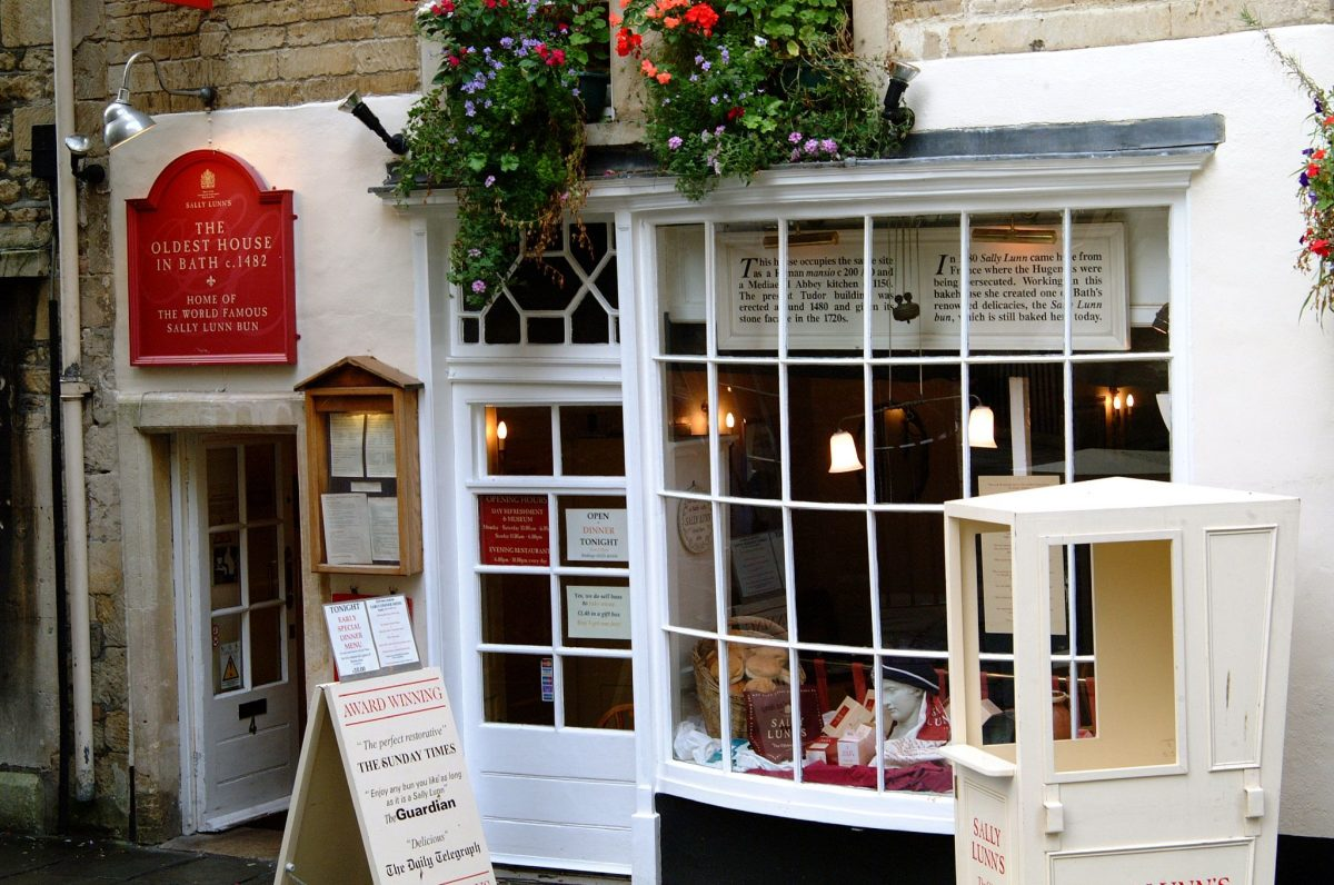 Sally Lunn's tea house exterior