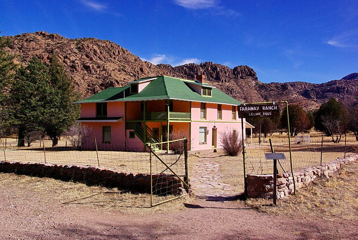 Faraway Ranch, Guest House, Chiricahua National Monument