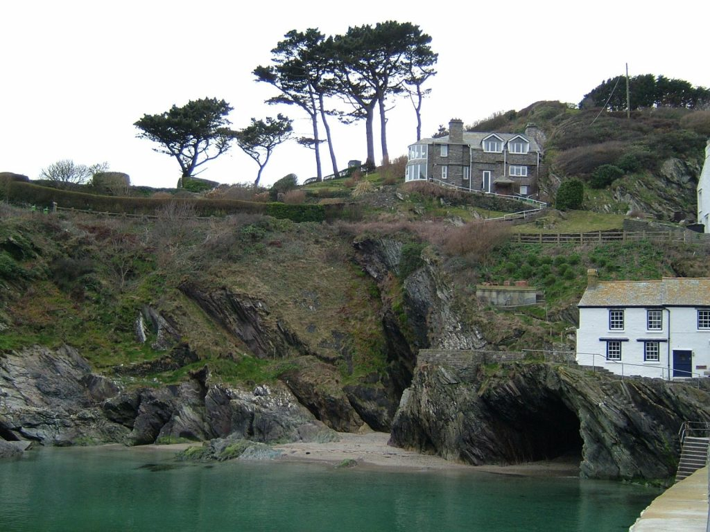 South West Coastal Path, Polperro, Cornwall