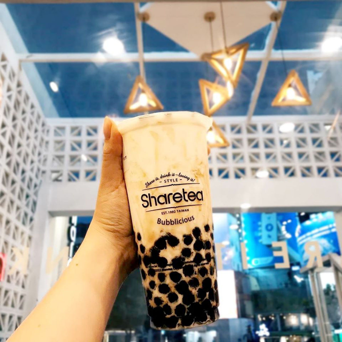 Sharetea Milk Tea with Boba