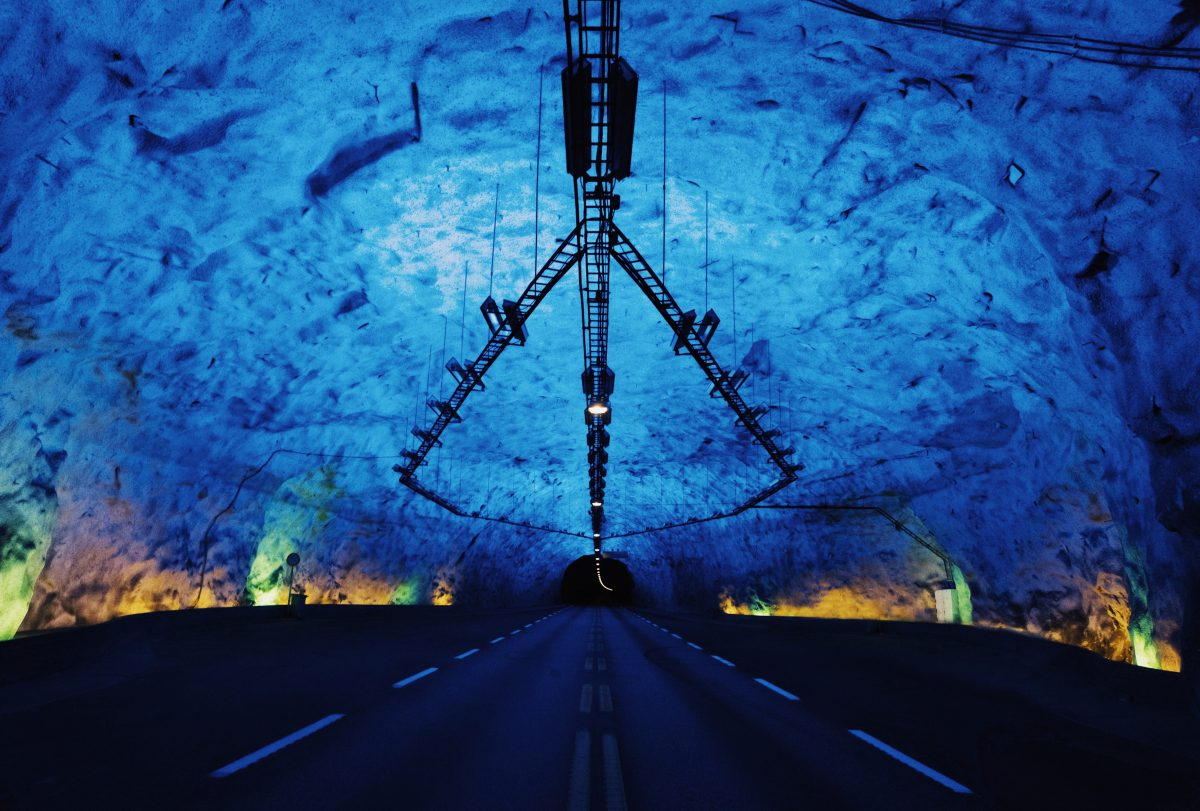 Longest road tunnel in Norway