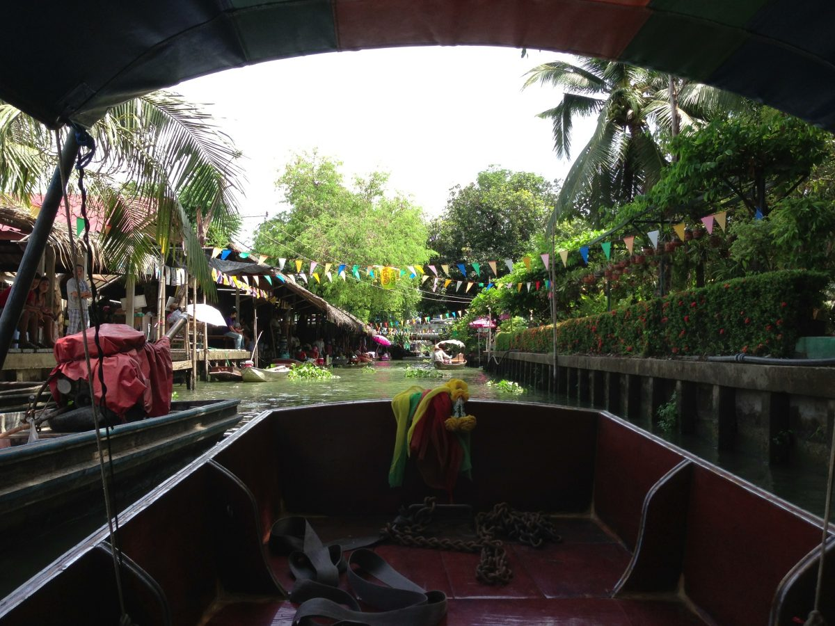 Taling Chan boat ride