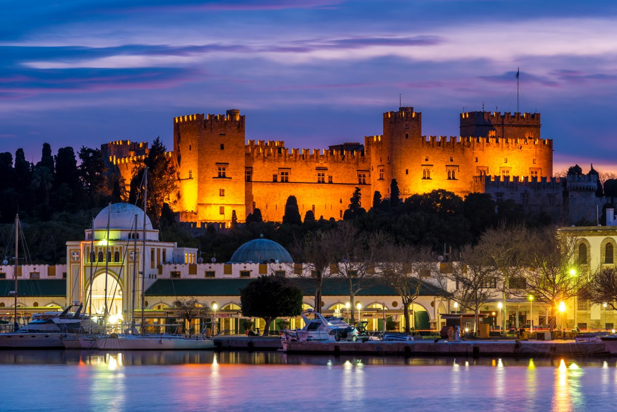 Rhodes Town was declared a UNESCO Heritage Site, thanks to its traditional buildings and Gothic churches