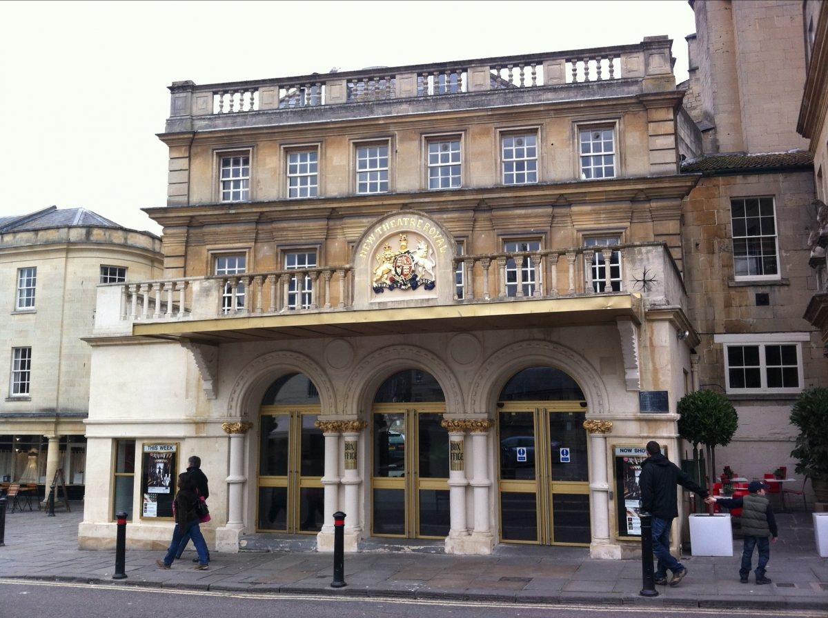Theater Royal Exterior, Bath