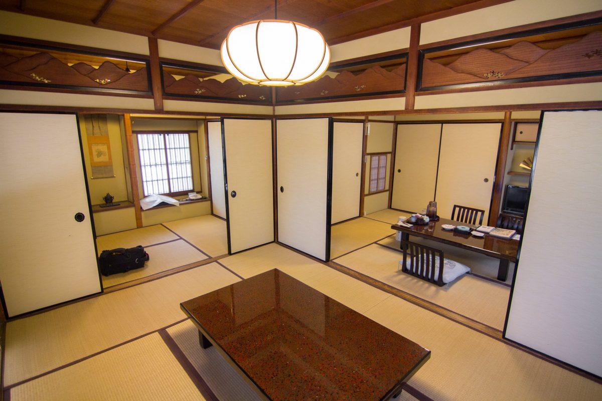 Accommodation in Nara, Japan