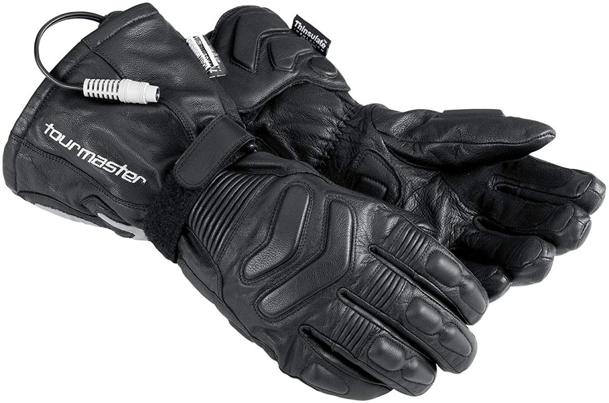 Tourmaster Heated Motorcycle Gloves